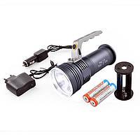 Ліхтар переносний T801-2-xpe, 2 акумулятора, фото 1