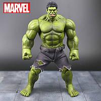 Игровая коллекционная Супер-реалистичная Фигурка Халк со сменными кистями, высота 26 см - Hulk Avengers Marvel
