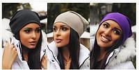 Женская шапка Fashion цвета в ассортименте