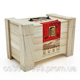 Набір китайського зеленого чаю Tieguanyin, 500g, в дерев'яна яній упаковці, ціна за упаковку, Q60