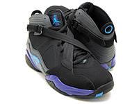Nike Air Jordan 8.0 Men's Basketball Shoe, Black / Dark Charcoal-Anthracite (467807-009)