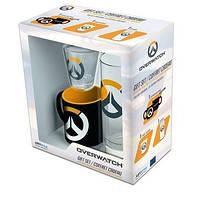 Подарунковий набір OVERWATCH Logo чашка 110 мл та дві склянки