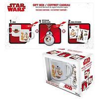 Подарунковий набір STAR WARS BB8 Чашка 320 мл, брелок та стікери