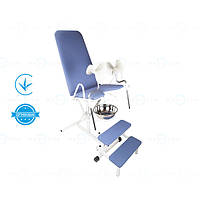 Гінекологічне крісло кг-1м Завіт, крісло гінекологічне оглядове