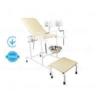 Крісло гінекологічне кг-2м Завіт, оглядове крісло гінеколога