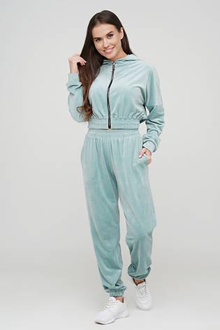 Велюровый костюм штаны и кроп-топ TM Orli, фото 2