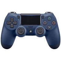 Геймпад безротовий PLAYSTATION 4 Dualshock v2 (9874768) синій