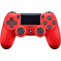 Геймпад безротовий PLAYSTATION 4 Dualshock v2 (9894353) червоний