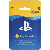 Підписка PLAYSTATION 4 Plus на 3 місяці (9813347)