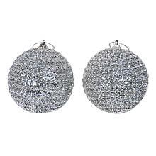Набор новогодних шаров из 2 штук SKL11-208813