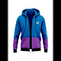 Толстовка TEAM NIGMA для чоловіків Синій / Фіолетовий