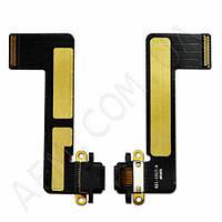 Шлейф (Flat cable) iPad mini c коннектором на зарядку (черный)