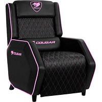 Крісло для геймерів COUGAR RANGER EVA чорний+рожевий