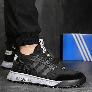 Чоловічі кросівки Адідас Black, фото 2