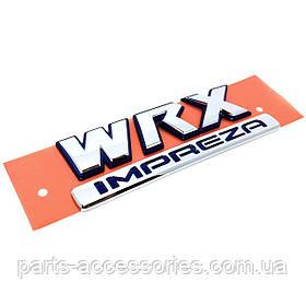 Subaru Impreza WRX 2002-03 значок эмблема на багажник новый оригинал