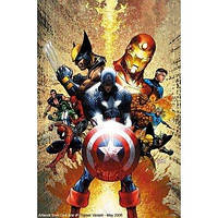 Комікс MARVEL Civil War (Громадянська Війна - Марк Міллар) 170х260x16