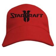 Модная летняя бейсболка  с надписью StarCraft