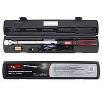 Динамометрический ключ электронный 1/2, 68-340 Нм INTERTOOL XT-9021