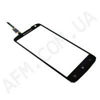 Сенсор (Touch screen) Lenovo S820 черный