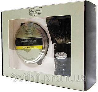 Набор для бритья с помазком Hans Baier 12142-011 Черный