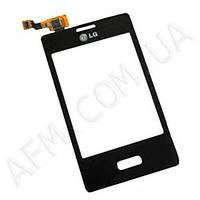Сенсор (Touch screen) LG E400 Optimus L3 черный