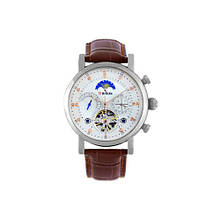 Наручний годинник Brucke J025 Brown-Silver-White