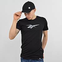 Мужская футболка Reebok (реплика)  черный