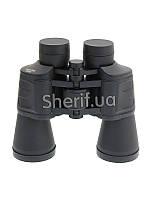 Бинокль армейский черный  MFH 20х50 Black 34693A