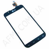 Сенсор (Touch screen) LG P715 Optimus L7 II Dual черный