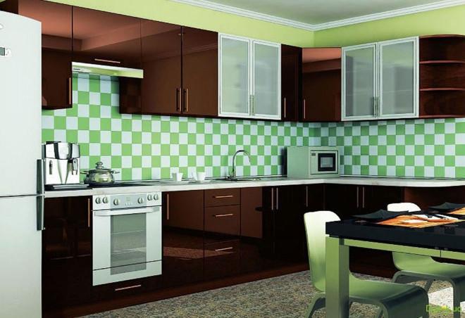 Кухня угловая МоДа / MoDa 3.5x1.7 (І) Вип-Мастер