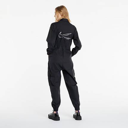 Комбинезон женский Nike Sportswear Swoosh Utility Jumpsuit CZ8894-010 Черный, фото 2