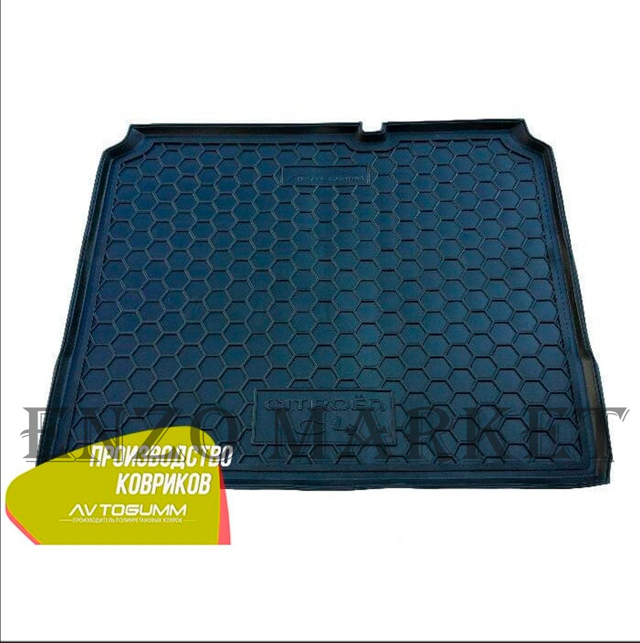 Автомобильный коврик в багажник Citroen C4 2010- (Avto-Gumm)