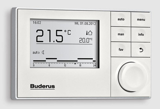 Комнатный регулятор Buderus Logamatic RC100/RC200/RC300 EMS Plus