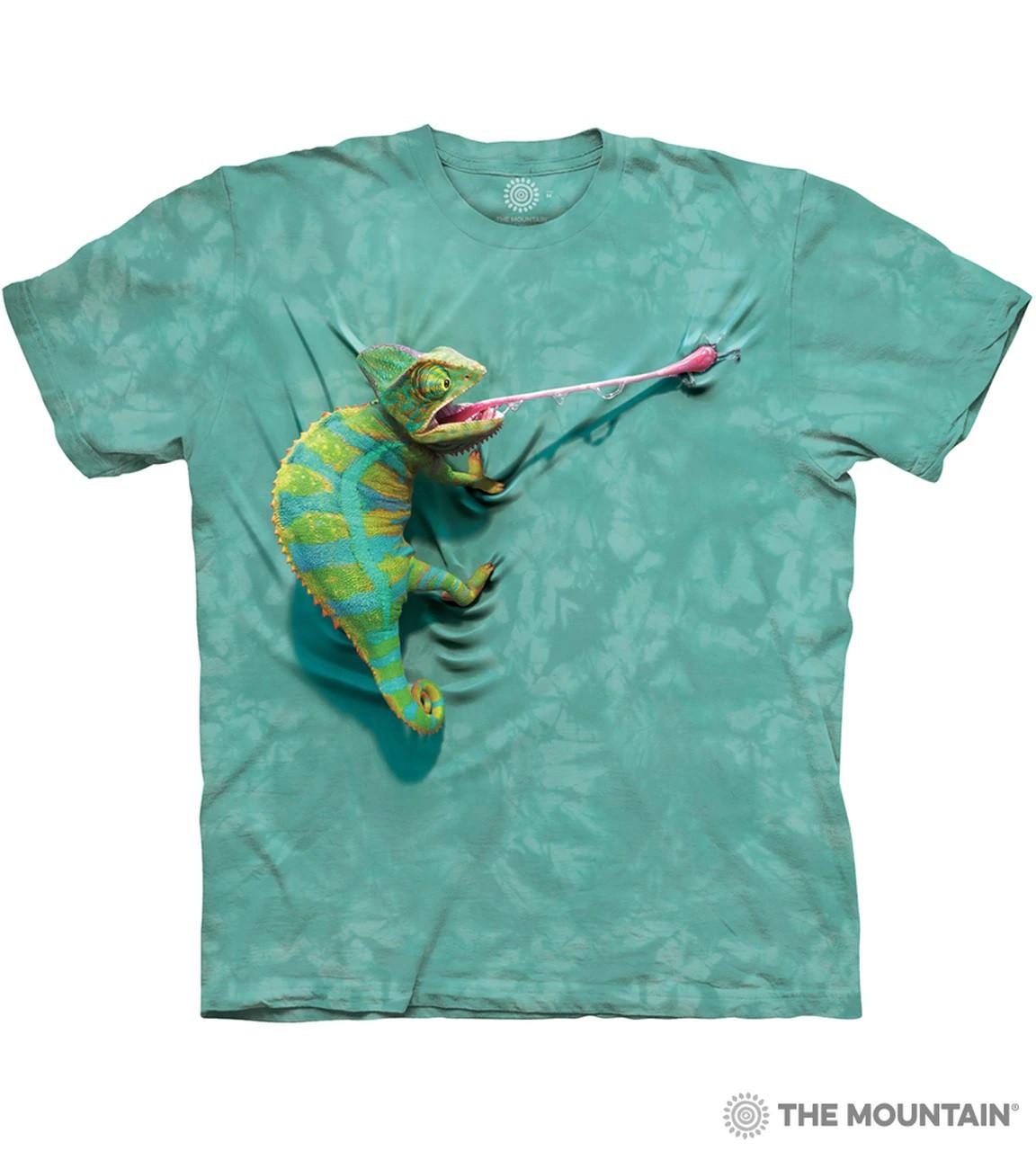 Дитяча футболка THE MOUNTAIN - Climbing Chameleon