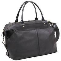 Кожаная дорожная сумка саквояж С3