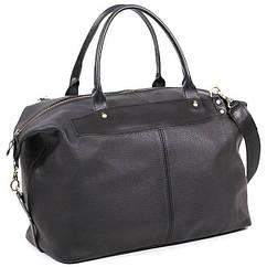 Шкіряна дорожня сумка саквояж С3