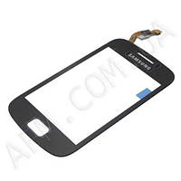 Сенсор (Touch screen) Samsung S6500 Galaxy mini 2 черный