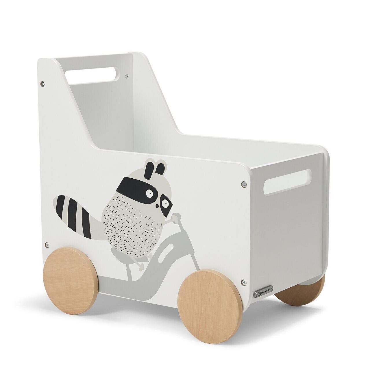 Ящик для іграшок Kinderkraft Racoon (KKHRACOSKR0000)