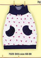 Платье для новорожденных Весенняя радость