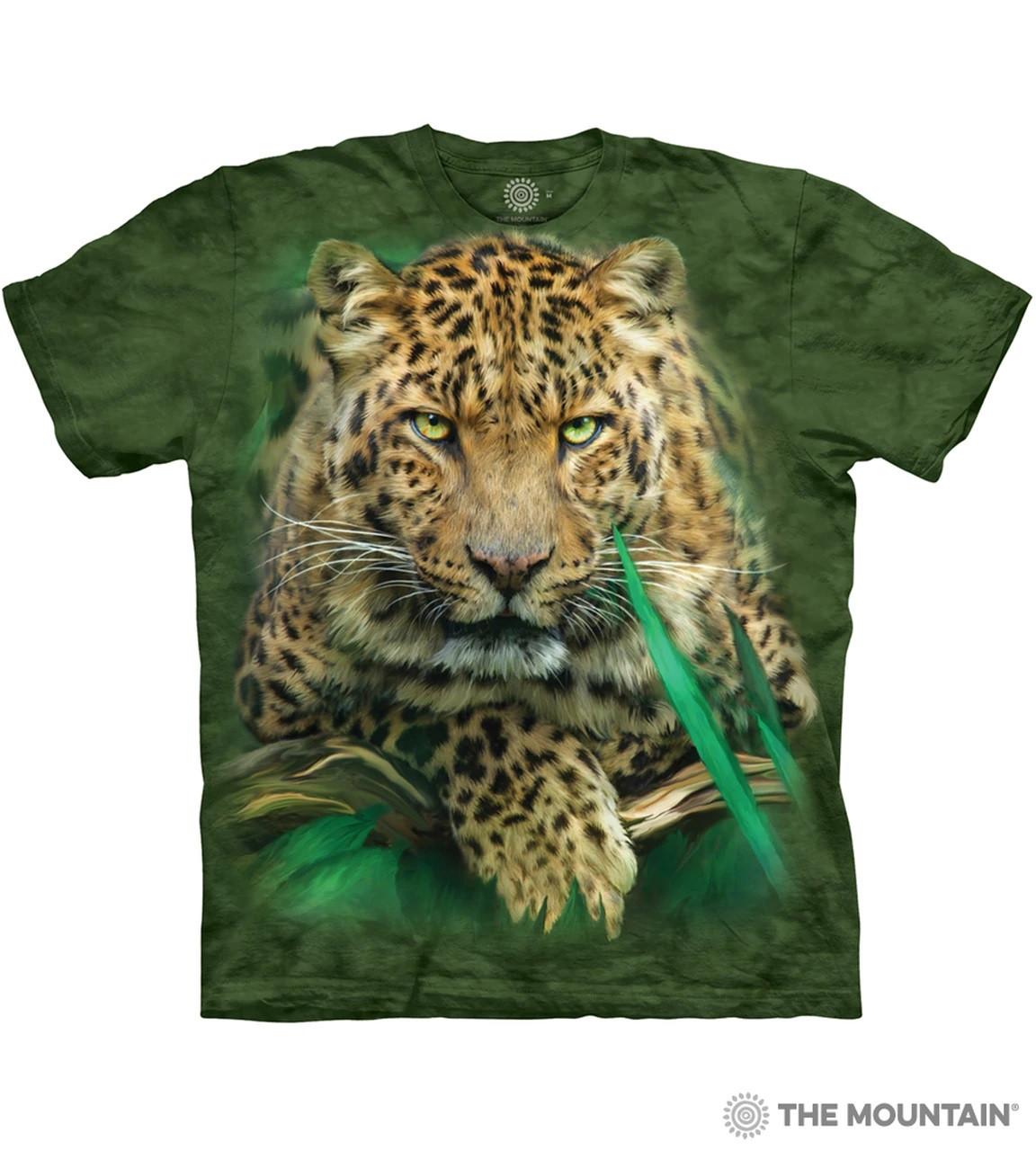 Футболка The Mountain - Majestic Leopard