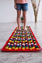 Массажный коврик с камнями / ортопедический / коврик с галькой / массажная дорожка Igora 150х40 см, фото 3