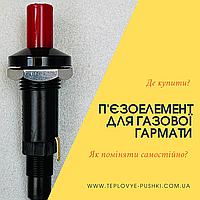 Як самостійно поміняти п'єзоелемент на газовій гарматі? Де купити?