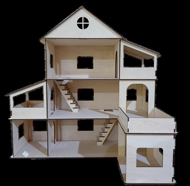 Лялькові будиночки. Дерев'яні будиночки для ляльок Лол.