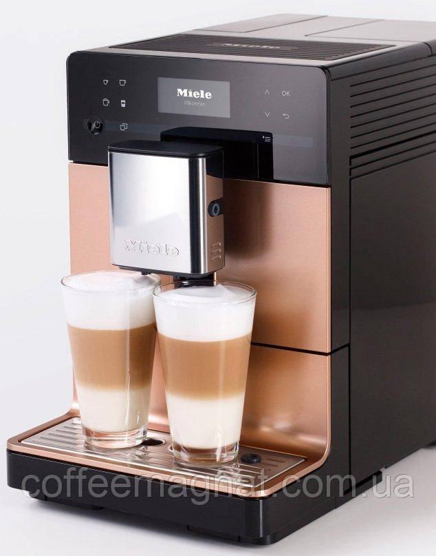 Кофемашина для зернового кофе MIELE Соло CM 5500 ROPF gold