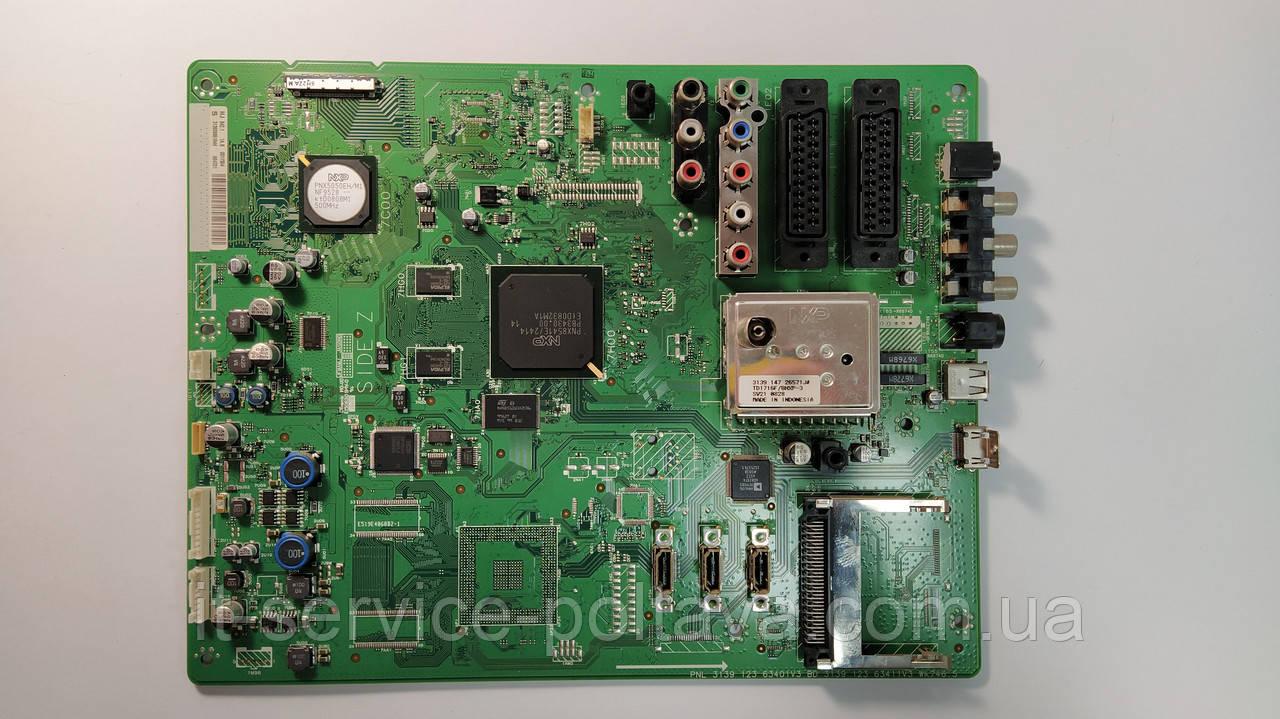 Материнська плата (Main Board) PNL 3139 123 63401V3, BD 3139 123 63411V3 Wk746.5 для телевізора Philips
