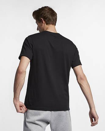 Футболка чоловіча Nike Nsw Just Do It AR5006-011 Чорний, фото 2
