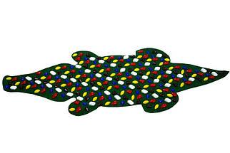 """Килимок масажний """"Крокодил"""" 150 х 50 см, фото 2"""