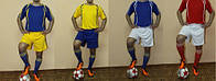 Форма футбольная взрослая ( S-M-L-XL .4 расцветки )