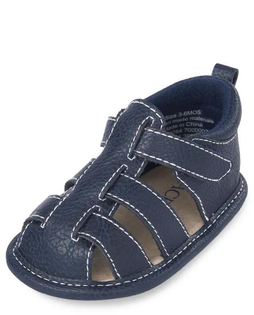 Детские сандалии пинетки Childrens Place США, первая обувь малыша, обувь для новорожденных 6-12М