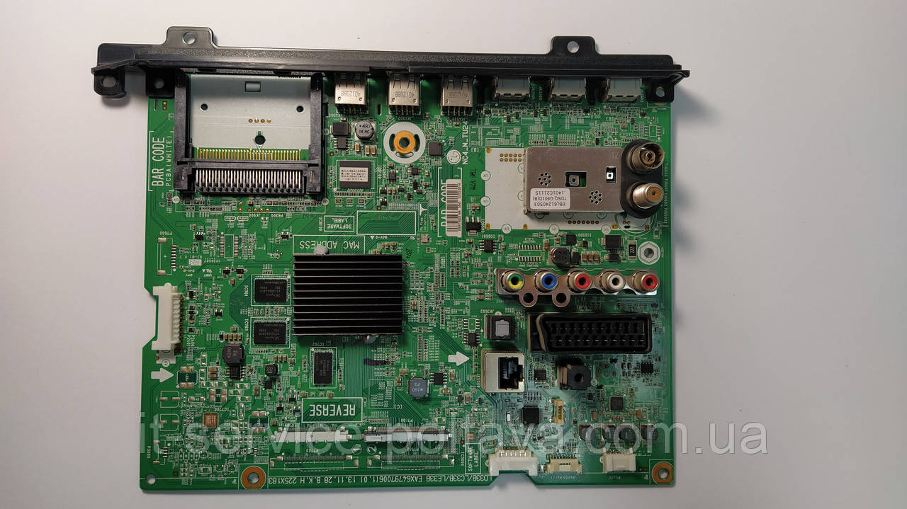 Материнська плата (Main Board) EAX64797006 (1.0) для телевізора LG 42LN570V